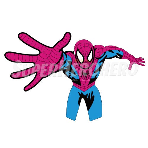 Designs Spiderman Iron on Transfers (Wall & Car Stickers) No.4634